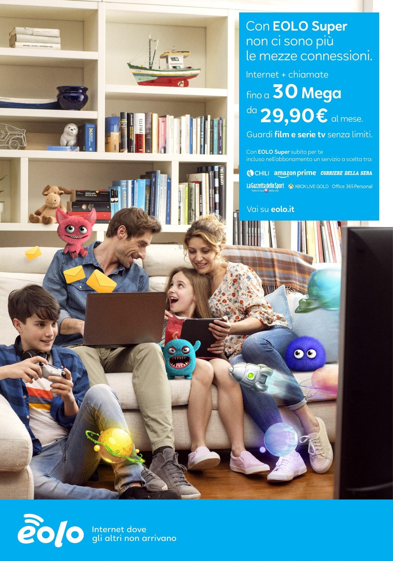 EOLO super – internet + chiamate